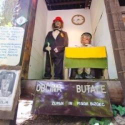 Butalski župan in pisar