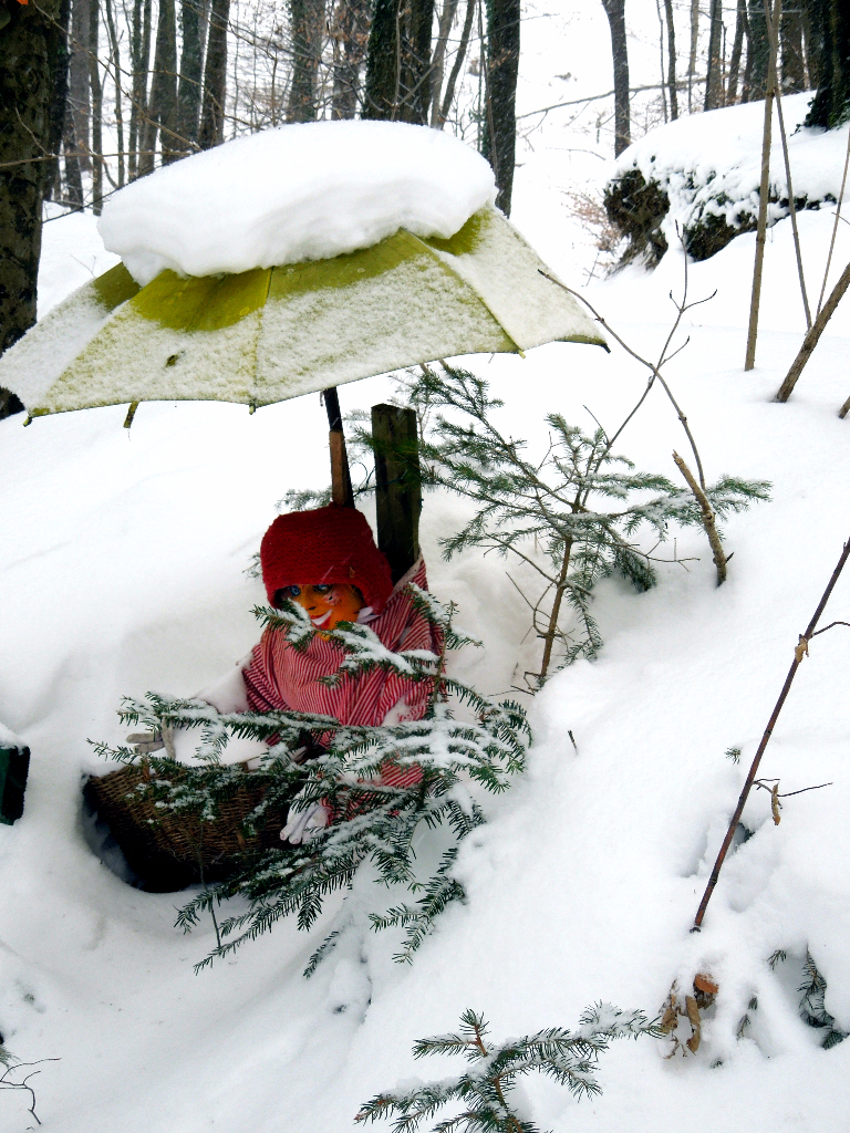 Zima v Deželi pravljic in domišljije